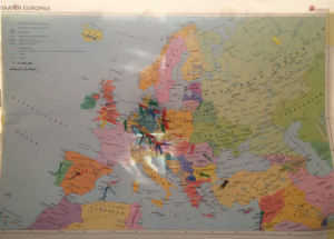 Landkarte Teilnehmer