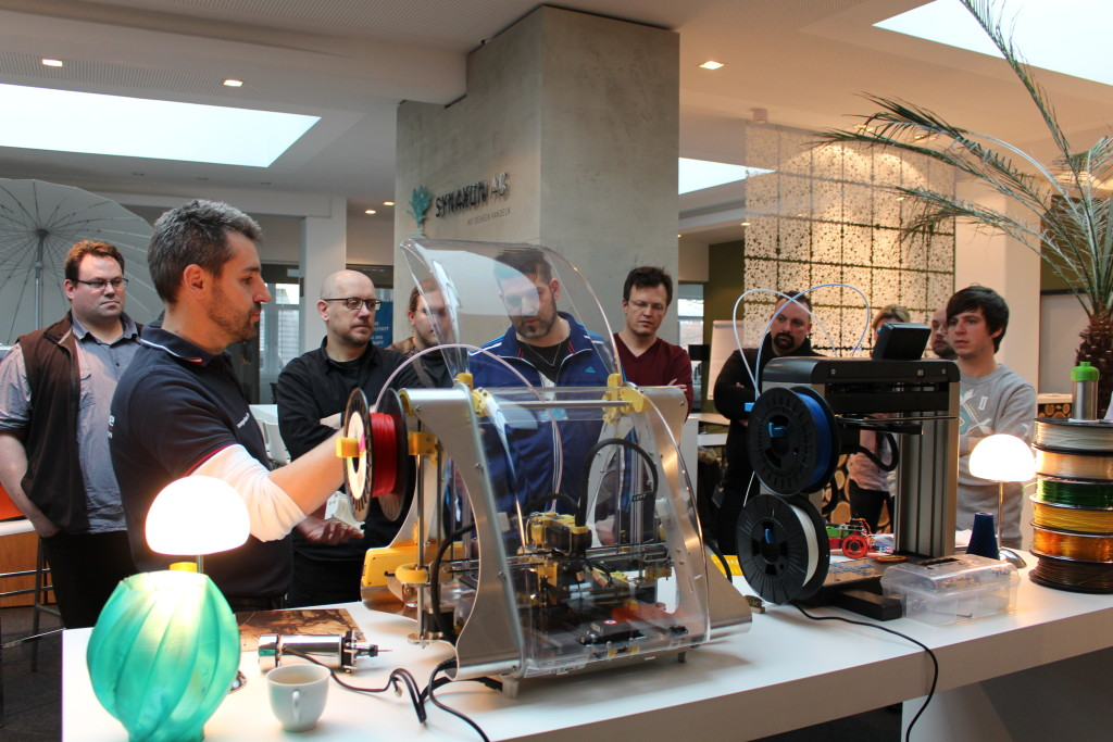 3D-Drucker, Test, ausprobieren
