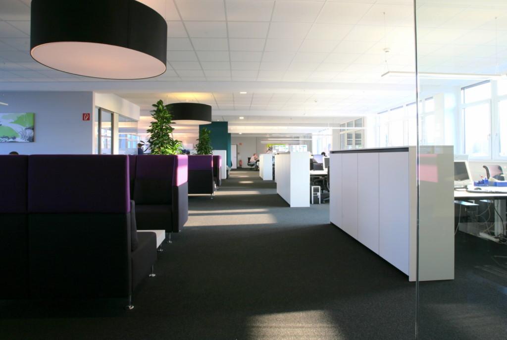 Rückzugsmöglichkeiten im Unternehmensgebäude der SYNAXON AG.
